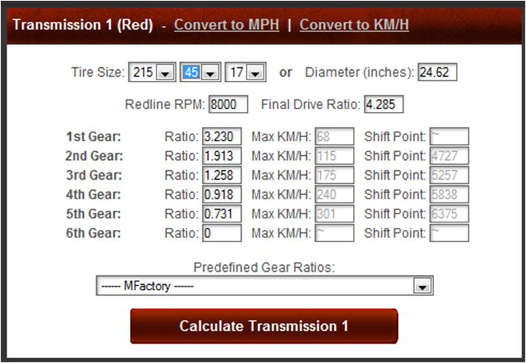 Max speed on E153 LSD @ 8000 Rpm - MR2 Owners Club Message Board